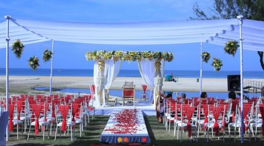 beach weddings in india
