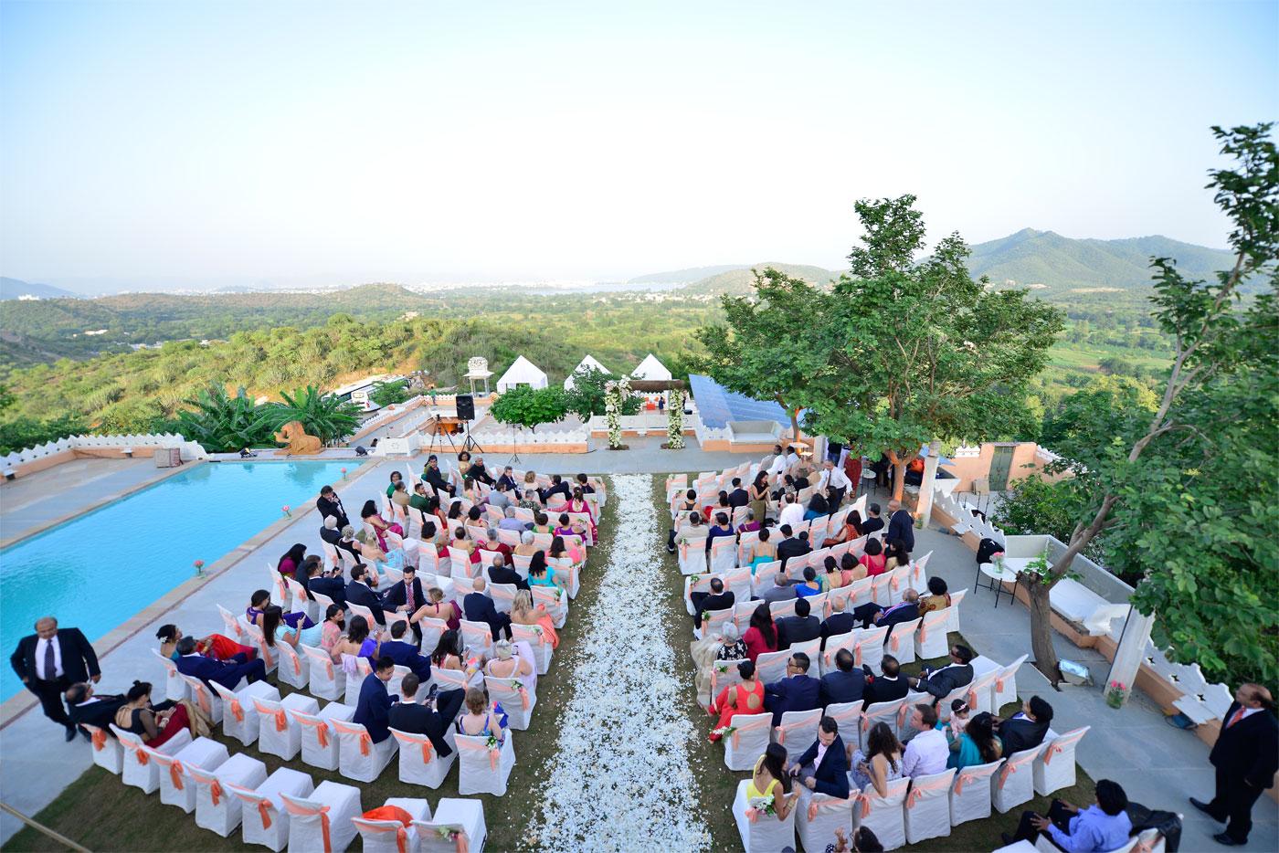 english weddings in India