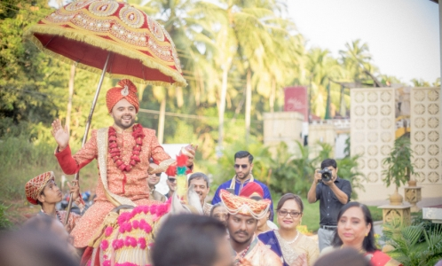 baraat procession ceremony, indian weddings