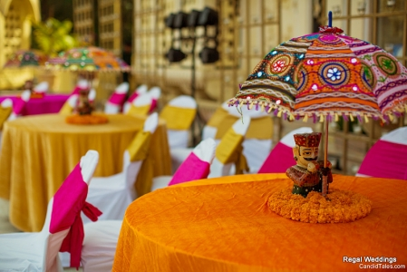 table setup rajasthan weddings
