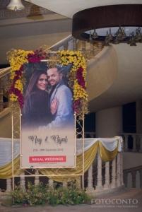 entrance goa weddings