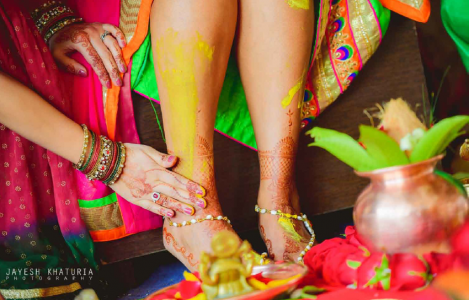 Haldi Ceremony in Indian weddings