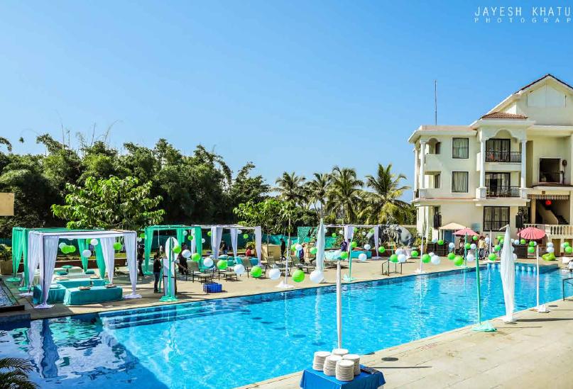 Pool Party, Goa Weddings ~ Celebrations