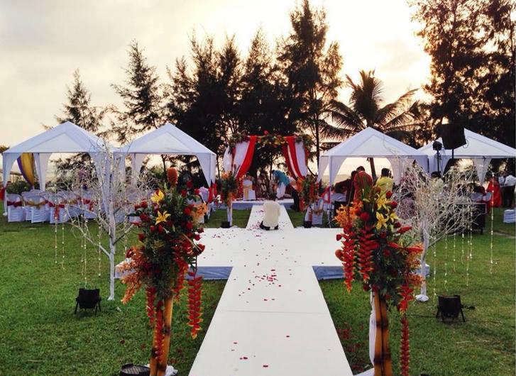 wedding setup, indian weddings