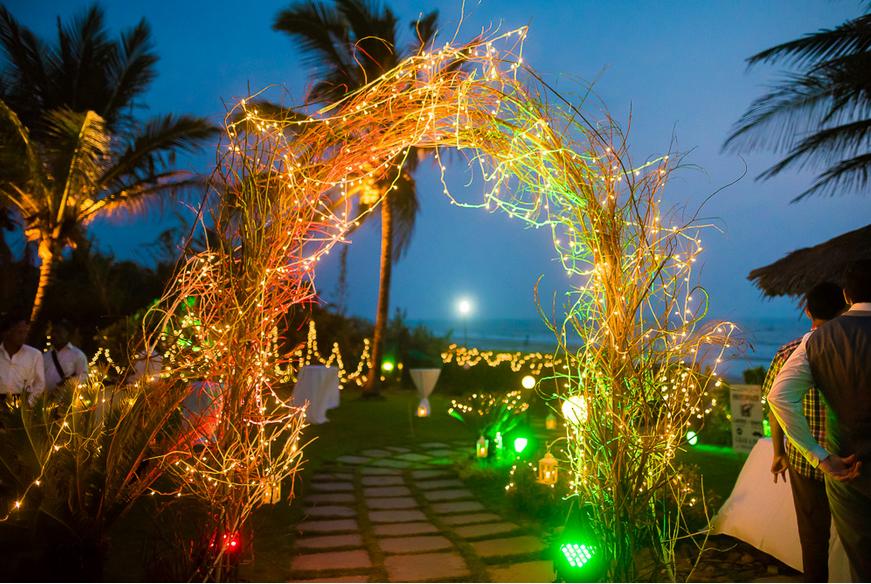 entrance in weddings