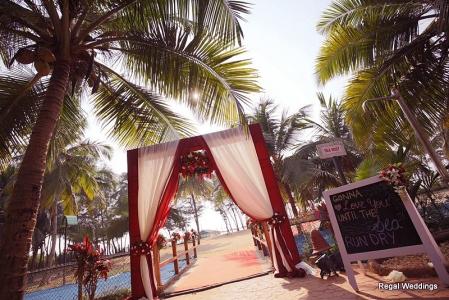 wedding entrance gate